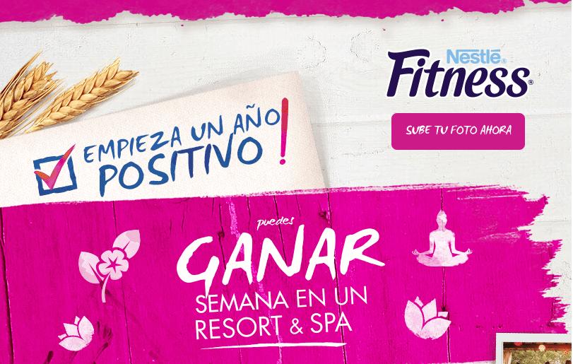 Promoción Nestlé Fitness 2017: Gana viaje de 1 semana a un Spa