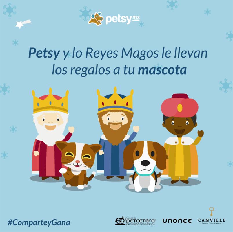 Petsy te regala accesorios para tu mascota de UNONCE, Canville y Catálogo Petcetera