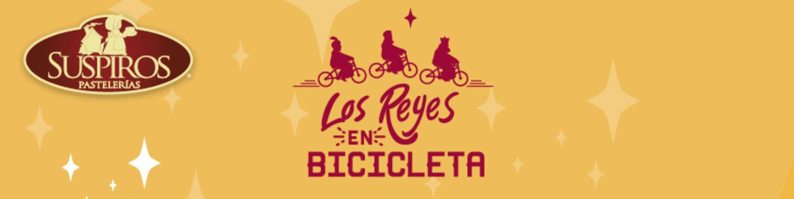 Suspiros Pastelerías te regala una bicicleta Benotto Progression R26 18V