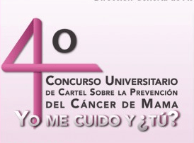 Participa en el cuarto concurso Universitario del cartel sobre la prevención del Cáncer de Mama y gana $15,000