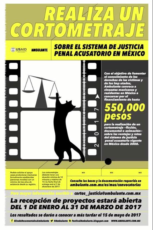 Concurso de cortometraje Ambulante 2017: Gana hasta $550,000 para financiar tu corto