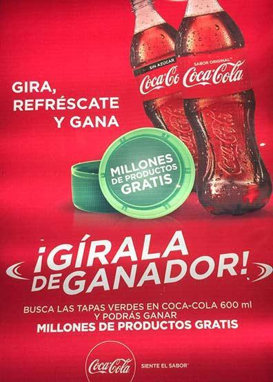 Premios coca cola 2017 tapa verde