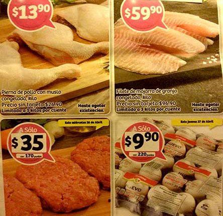 Soriana: ofertas en frutas, verduras y Recompensas del Día 25 al 27 de abril