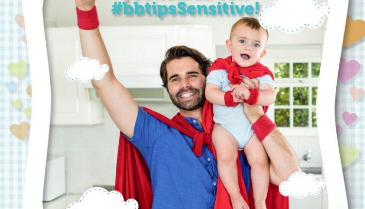 Gana un mes de pañalitos y kit de loción en el concurso de bbtips del Día del Padre