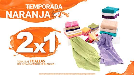 Folleto Temporada Naranja 2017 del 30 de junio al 6 de julio