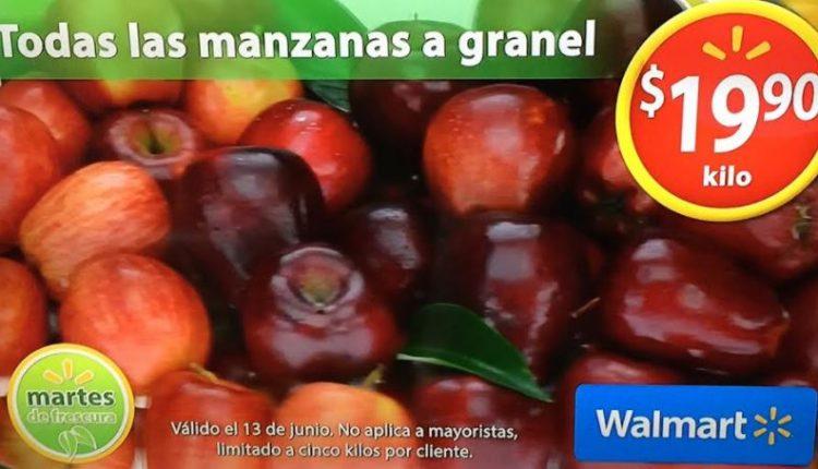 Walmart Martes de Frescura 13 de junio 2017