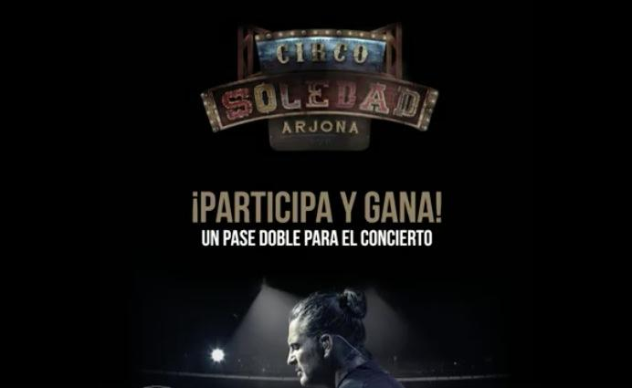Gana boletos para el concierto de Ricardo Arjona en Arena Monterrey