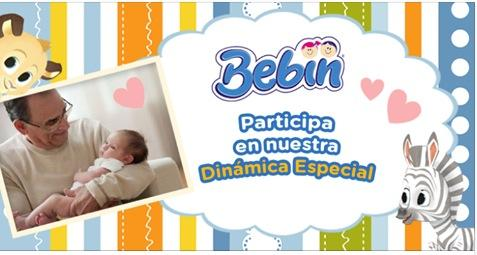 Concurso Día del Abuelo Bebin: Gana un mes de pañales gratis