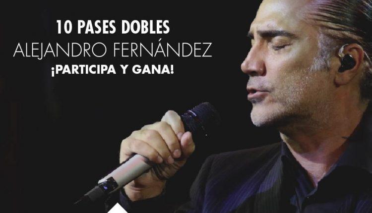 Boletos GRATIS para Alejandro Fernández en el Auditorio Nacional cortesía de Centro Santa Fe