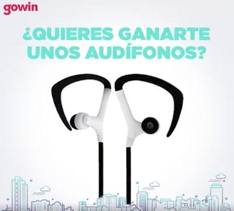 Gana uno de los 10 audífonos gowin cortesía de Oxxo