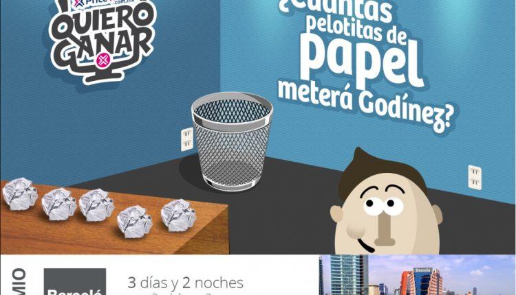 Quiero Ganar PriceTravel: gana estancia en el hotel Barceló México Reforma