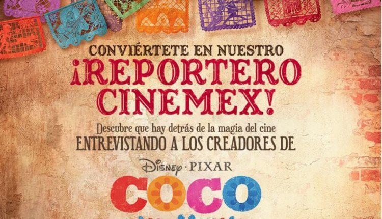 Conviértete en el reportero Cinemex y entrevista a los creadores de Coco