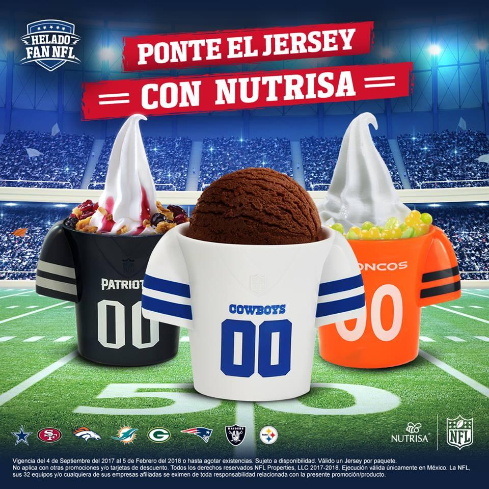 2c001e07e44ee Promoción Nutrisa NFL Raspa y Gana  Gana jerseys y gorras de la NFL