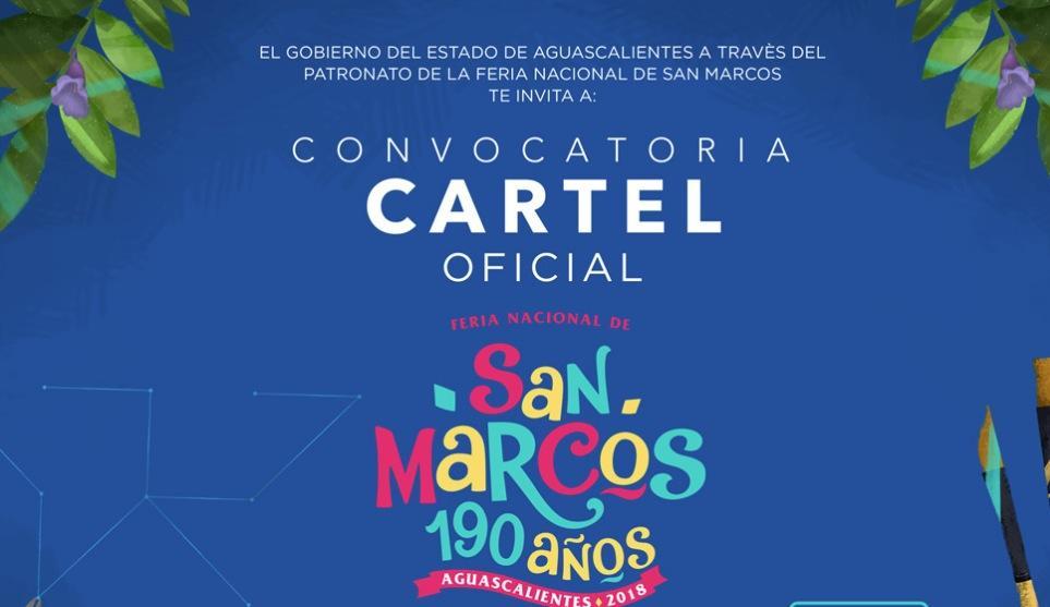 Concurso Cartel Feria de San Marcos 2017: Gana $100,000 pesos