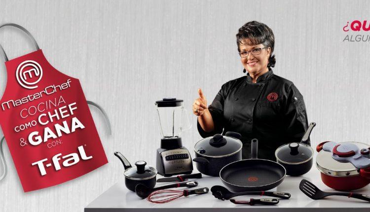 Promoción T-fal Masterchef 2017: registra tu ticket y gana en t-fal.com.mx