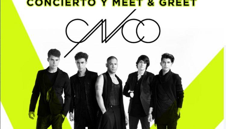 Gana boletos para el concierto de CNCO y meet & greets cortesía de Claro Música