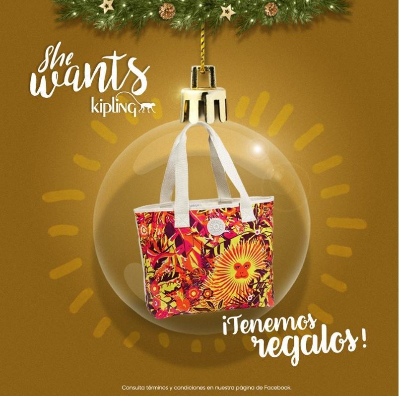Concurso de Navidad Kipling: Gana uno de los 5 bolsos
