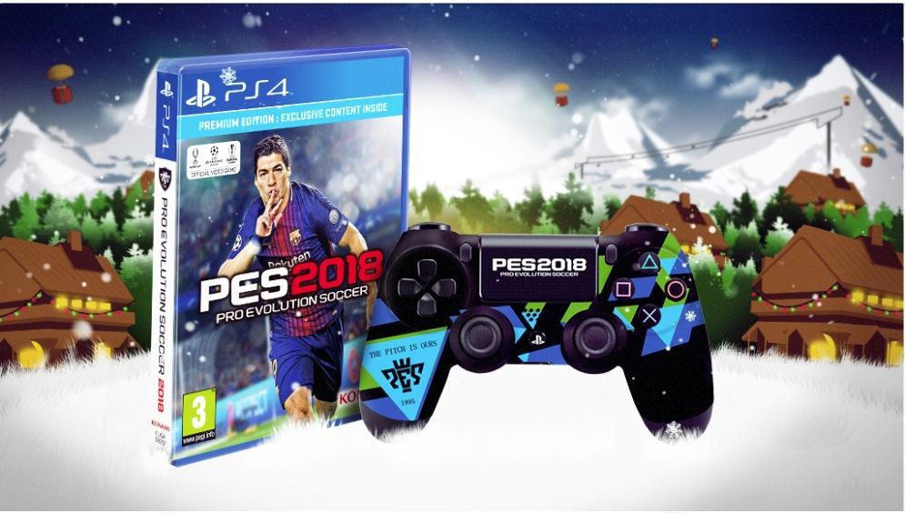 Gana Un Juego Pro Evolution Soccer 2018 Control Edicion Especial