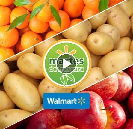Walmart Martes de Frescura 16 de enero 2018