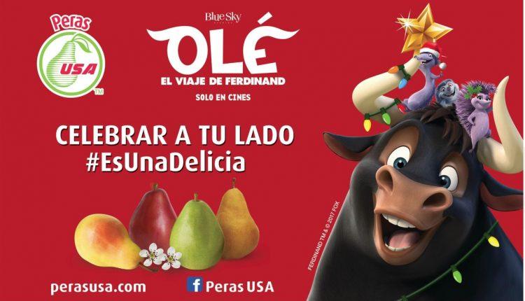 Gana kits de Olé el viaje de Ferdinand cortesía de Peras USA