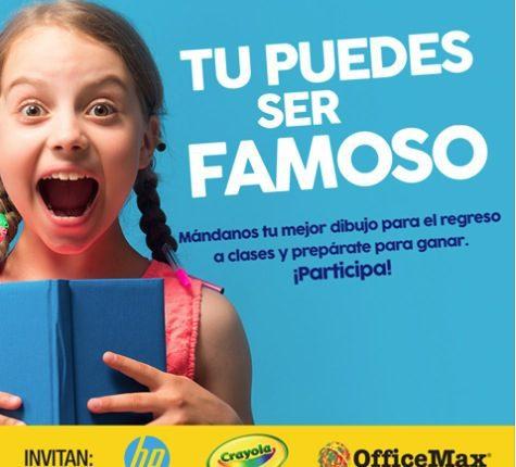 Gran Concurso de Dibujo OfficeMax: Gana smartphone, tableta o laptop