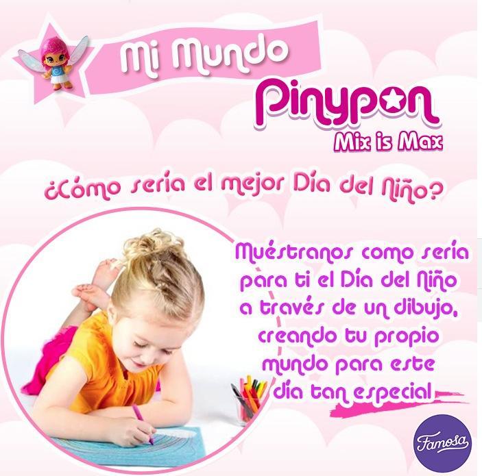 Concurso Del Día Del Niño Pinypon Gana Un Set De Juguetes