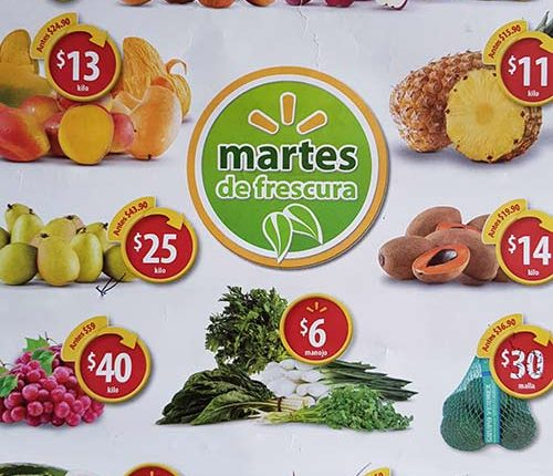 Walmart Martes de Frescura 24 de abril 2018