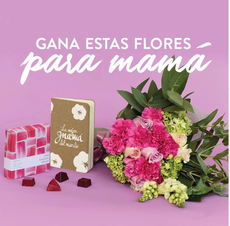 Gana Un Arreglo Floral Para Este Día De Las Madres En El