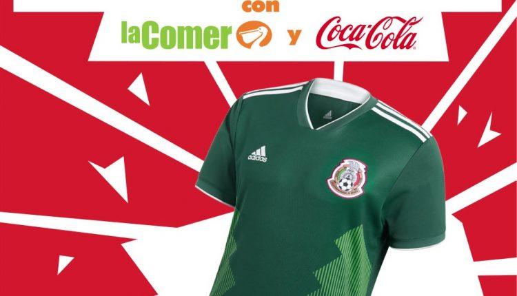 Concurso de La Comer y Coca-Cola: Gana 1 de 30 playeras oficiales de la Selección Mexicana
