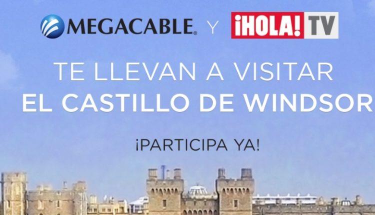 Concurso Megacable y Hola TV: Gana un viaje al castillo de Windsor