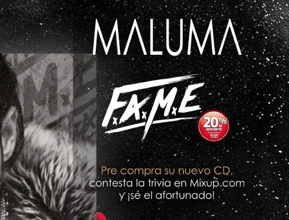Trivia Mixup Maluma: Gana viaje a su concierto en Miami