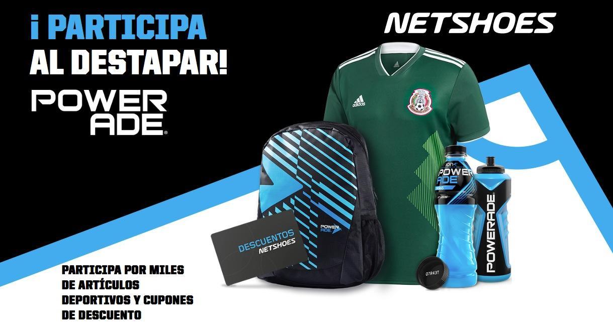 Promoción Netshoes Powerade  registra tu código en netshoes.com.mx powerade  y gana jerseys 645398827f6ee