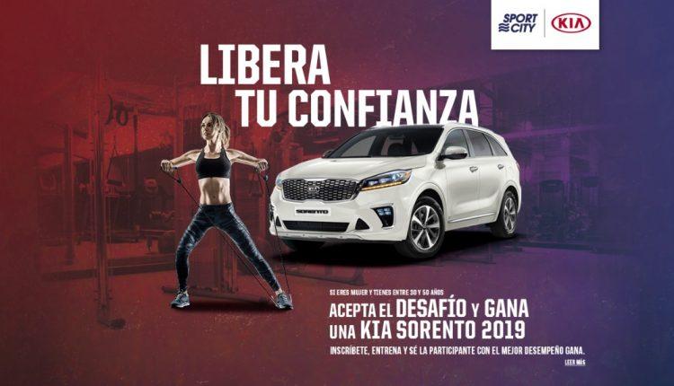 Concurso Sport City Libera tu Confianza: Gana un Kia Sorento 2019