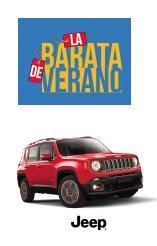 Sorteo Fábricas de Francia Gran Barata de Verano 2018: Gana 1 de 41 Jeep Renegade Sport 2018