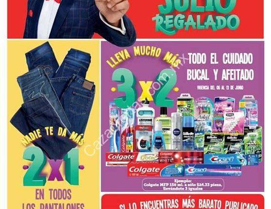 Julio Regalado 2018 folleto de ofertas del 6 al 14 de junio