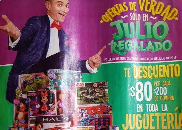 Julio Regalado 2018 folleto ofertas promociones del 29 de junio al 5 de julio