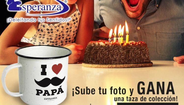 Promoción Pastelería Esperanza Día del Padre: Gana 1 de las 1500 tazas de colección