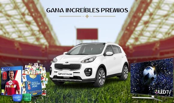 Fútbol de Fantasía McDonald's Mundial Rusia 2018: Gana auto Kia Sportage y más en fantasy.fifa.com