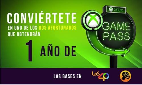 Concurso Meristation y Los 40: Gana 12 meses de Xbox Gamepass