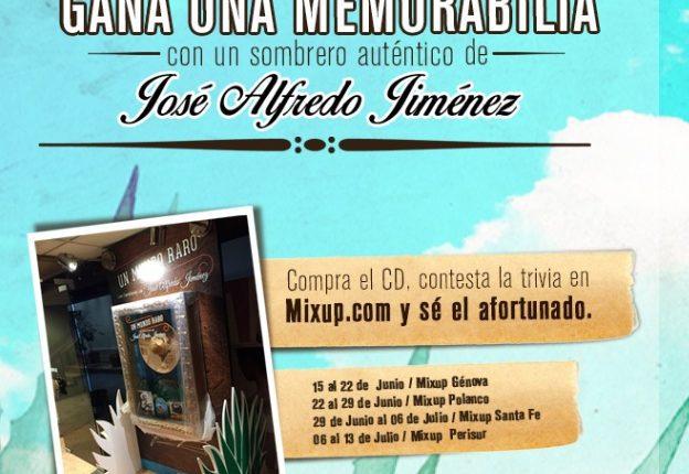 Gana una memorabilia de José Alfredo Jiménez con Mixup