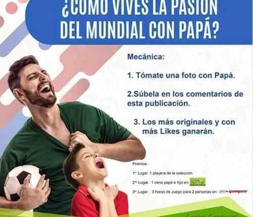 Gana una playera de la Selección Mexicana en el concurso de Pabellón Azcapotzalco