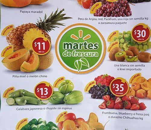 Walmart Martes de Frescura 12 de junio 2018