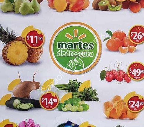 Walmart Martes de frescura 11 de julio