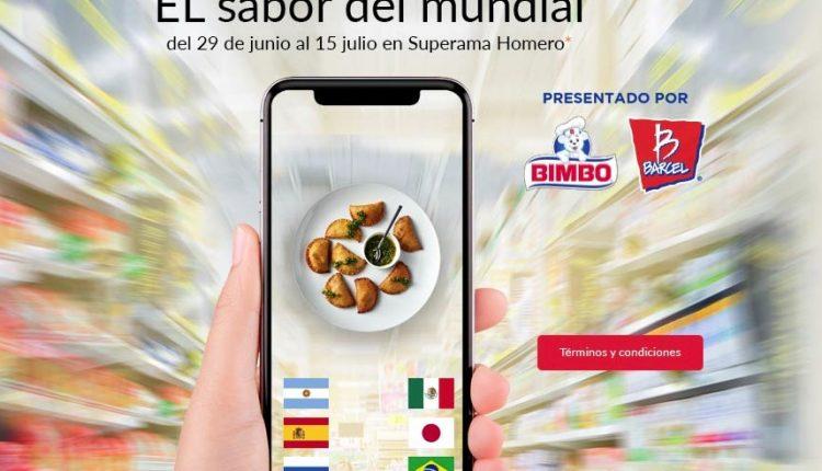 Promoción Superama el Sabor del Mundial: Gana una experiencia de cocina con el chef Oropeza
