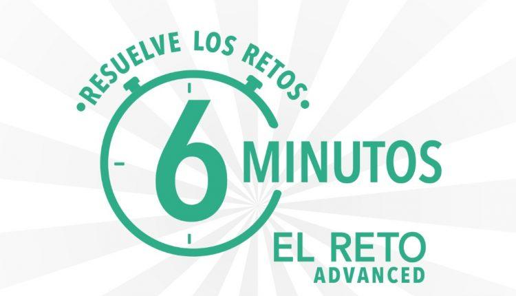 Promoción Aspirina Advanced el Reto 6 Minutos: Gana tarjetas iTunes de $600