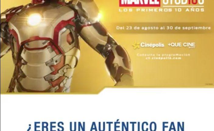 """Boletos Gratis para el Ciclo de Cine """"10 Años de Marvel Studios"""" cortesía de Daewoo"""