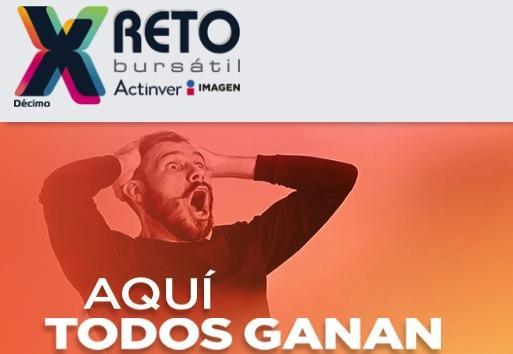 Concurso Reto Bursátil Actinver Imagen: Gana hasta $500,000 pesos