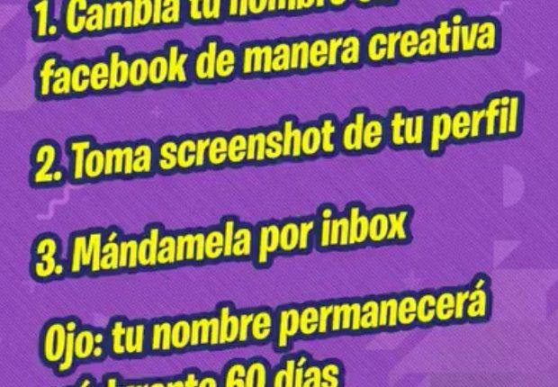 Reto Bubbaloo Cámbiate el nombre: Gana cámara Instax, audífonos, bocina y más