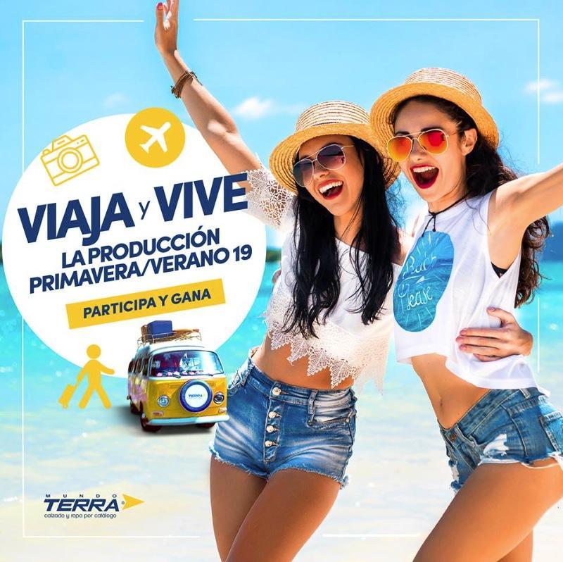 Concurso Mundo Terra Primavera Verano 2019  Gana viaje a Puerto Vallarta y  sesión de modelaje 7d8dfab0dc3c3