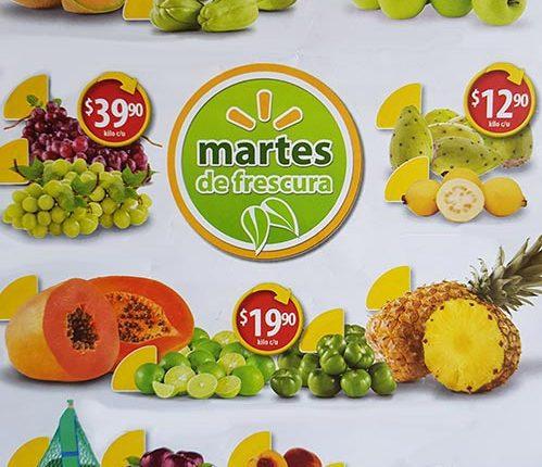 Walmart Martes de Frescura 2 de octubre 2018